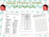 NGSS Physical Changes Lab