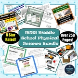 NGSS Physical Science Bundle Middle School Chemistry Labs Activities