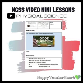 NGSS Physical Science Phenomenon Video Mini Lessons