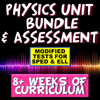 STEM NGSS Physics Resource Bundle
