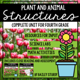 NGSS 4th Grade Plant and Animal Structures Unit