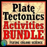 Plate Tectonics Activity BUNDLE 9 NGSS Earth Science Projects