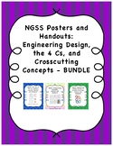 NGSS Posters Bundle - Engineering Design Process, Crosscut