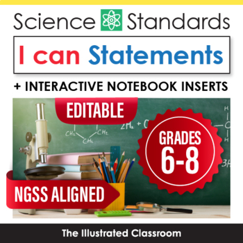 I can statements for middle school NGSS
