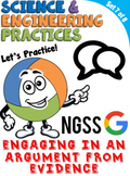 NGSS Practice: Engaging in an Argument from Evidence (Dist