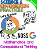 NGSS Practice: Mathematics & Computational Thinking (Dista