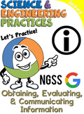 NGSS Practice: Obtaining, Evaluating, & Communicating Info