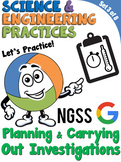 NGSS Practice: Planning & Carrying Out Investigations (Dis