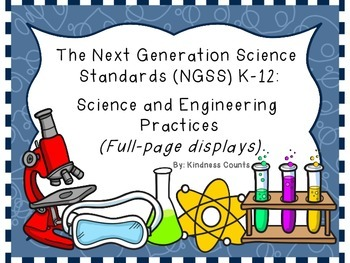NGSS Practices (Full-Sheet Size)