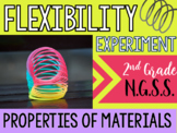 NGSS Properties of Materials- Flexibility Experiment & Lesson!