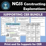 NGSS SEP: Constructing Explanations:Claims and Evidence BUNDLE