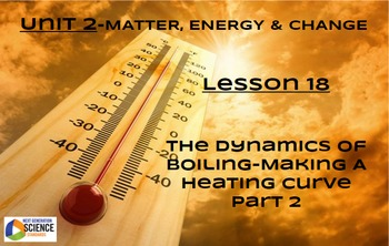 NGSS/STEM Lesson 18 The Dynamics of Boiling--Making A Heating Curve