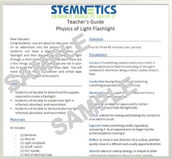 NGSS STEM - Teacher Guide - Using basic household items for STEM challenges!