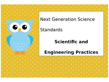 NGSS STEM engineering and mathematics bulletin board posters with owls