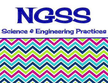NGSS Science & Engineering Practices - Classroom Signs / Posters