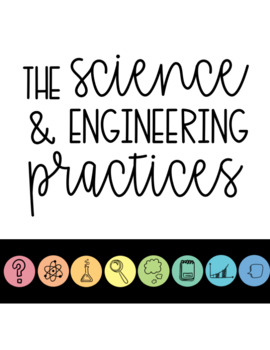 NGSS Science & Engineering Practices Clip Chart in COLOR