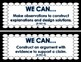 NGSS Science Focus Wall Labels (K-2) Freebie