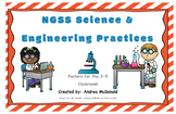 Next Generation Science and Engineering Practices Posters NGSS Grade 3-5 11x17
