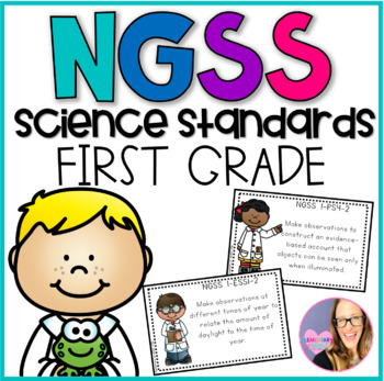 NGSS Science Standards- First Grade