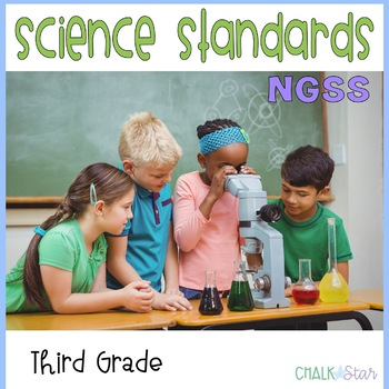 NGSS Science Standards Third Grade