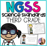 NGSS Science Standards- Third Grade