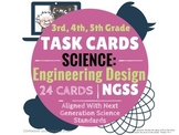 3rd 4th 5th Distance Learning SCIENCE TASK CARDS: Engineer