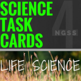 4th Grade Distance Learning SCIENCE TASK CARDS: Life Scien