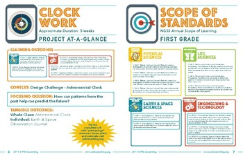 NGSS Science Unit - Project-at-a-Glance - Clockwork