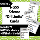 "NGSS Science Vocabulary ""Off Limits"" Game"