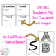 Science Vocabulary Word Wall Grade 4: Use with NGSS