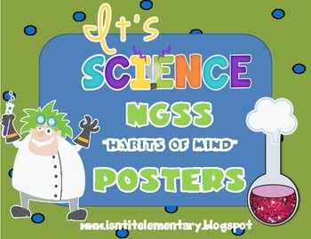 """NGSS Science and Engineering """"Habits of Mind"""" Posters"""