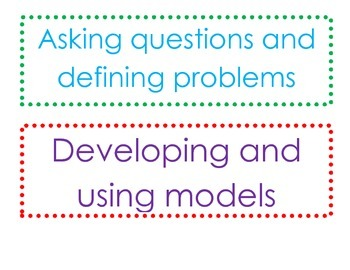 NGSS Science and Engineering Practice