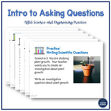 NGSS Science and Engineering Practices: Asking Questions -
