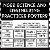 NGSS Science and Engineering Practices Bulletin Board Posters