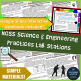 NGSS Science and Engineering Practices Lab Stations Activities and Introduction