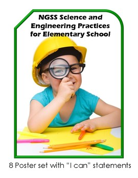 NGSS Science and Engineering Practices Poster Set