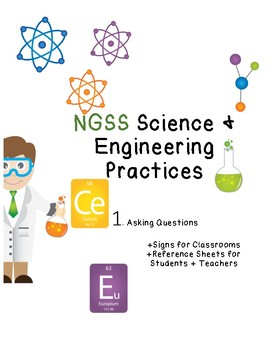 NGSS Science and Engineering Practices Posters and Reference Sheets