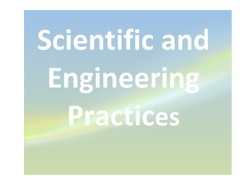 NGSS Scientific and Engineering Practices Printouts Posters