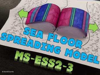 NGSS Seafloor Spreading Model MS-ESS2-3