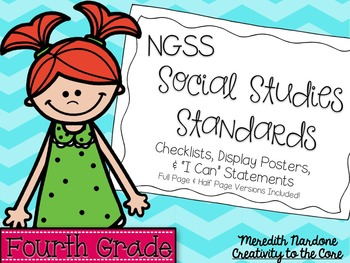 NGSS Social Studies Standards - 4th Grade