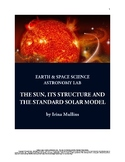 NGSS Space Science Astronomy Lesson Plan #60 The Sun & the Standard Solar Model
