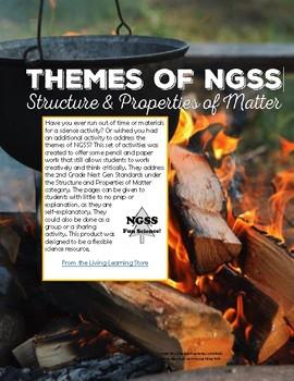 NGSS Structure & Properties of Matter Activities