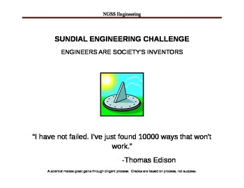 NGSS Sundial Engineering Challenge
