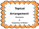 NGSS Topical Arrangement Signs- Structure & Properties of