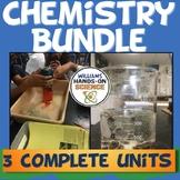 NGSS Three Unit Chemistry Bundle