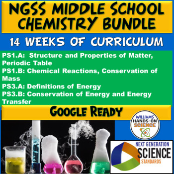 NGSS Middle School Chemistry Bundle