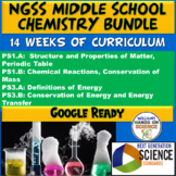 NGSS Middle School Chemistry Bundle PS1.A PS1.B PS3.A PS3.B