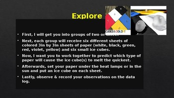 NGSS Unit 3 Lesson 21: Colored Paper
