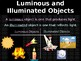 NGSS Unit 3 Lesson 5: Light and Illumination Project