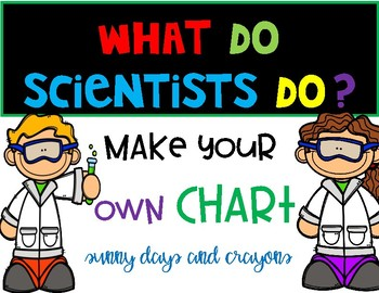 NGSS WHAT DO SCIENTS DO?  TEACHER CHART